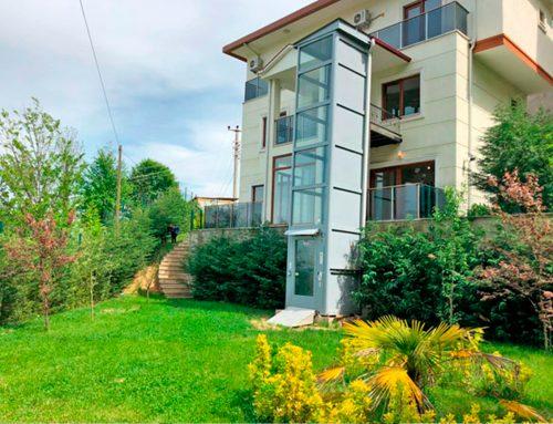 Kuyusuz Ev Asansörü